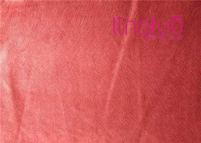 Multi Layer High Density Velvet Sofa Cushion Fabric Imitation Super Bad Flower